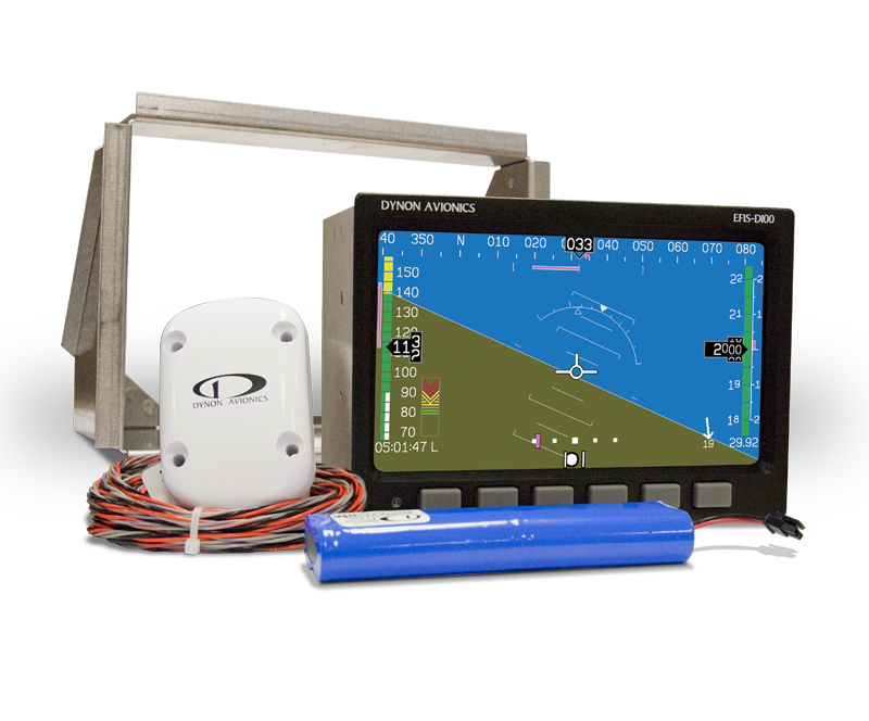 Dynon Avionics EFIS-D10A Primary Flight Display